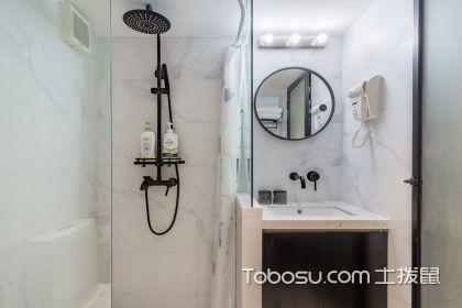 迷你小卫生间装修效果图,再小也要让沐浴成为享受
