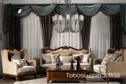 欧式窗帘怎么搭配?欧式装修客厅窗帘搭配技巧说明