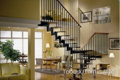复式楼梯扶手设计重视事项,安然又公正的设计