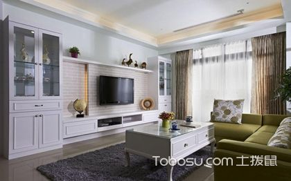 简约风格电视背景墙如何布置?四大要点要牢记