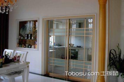 厨房玻璃推拉门效果图,超级实用美观