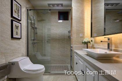 美式风格浴室柜效果图,增添更多的时尚品味