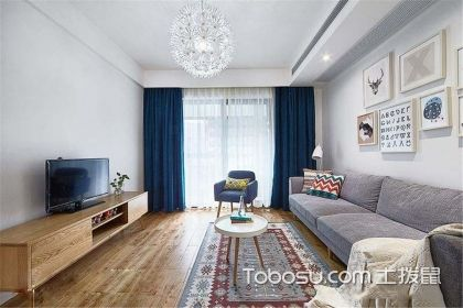 86平米北欧风格设计案例,轻松实现两室变三室