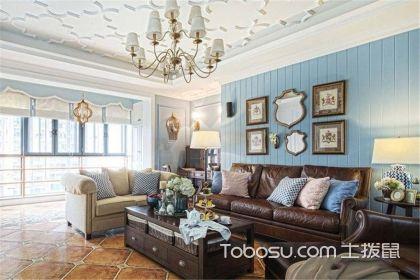 四室两厅美式风格装修案例,152平美式风格四居室装修案例欣赏