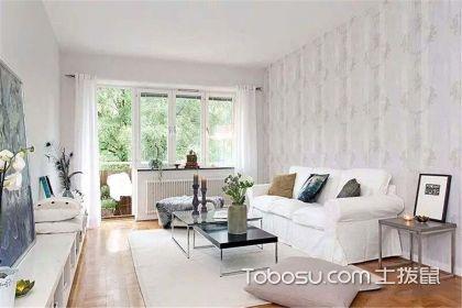 88平米混搭风格公寓装修效果图,用白色打造您的专属世界