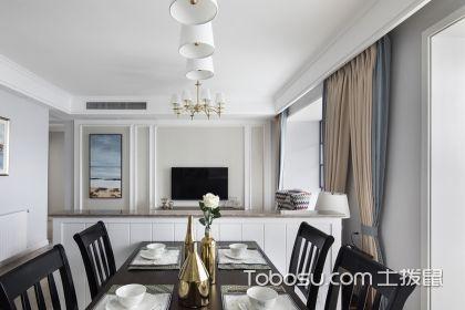 122平简美混搭风格,带您欣赏三室两厅装修案例