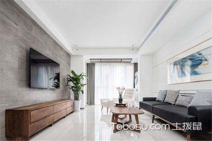 105平米简约风格装修案例,为您打造一个简约时尚的家