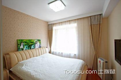卧室贴壁纸好吗 卧室壁纸花型的选择_卧室壁纸