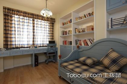 地中海风格书房设计要点 地中海风格书房特点