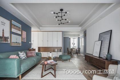 三室两厅北欧风格案例,低调的颜色让家恬淡而舒适