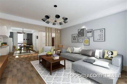 三室两厅现代简约风格装修案例,你也想拥有这么美的家吗