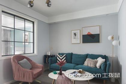 成都90平北欧风格装修案例,舒适的家居生活就此开始
