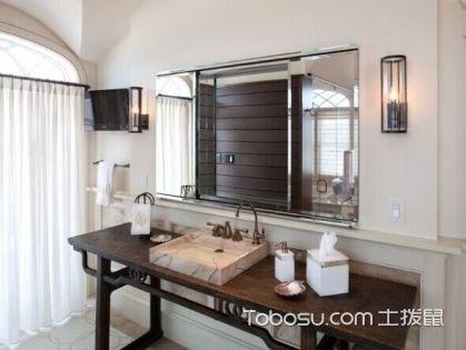 浴室镜前灯如何选择,八招打造干净清爽的卫浴空间