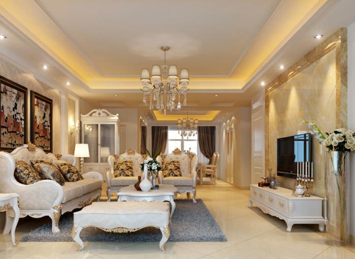 50平米欧式装修效果图,50平米的房屋也有别样特色