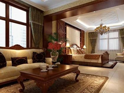 美式风格高端别墅装修设计,不一样的贵气与奢华