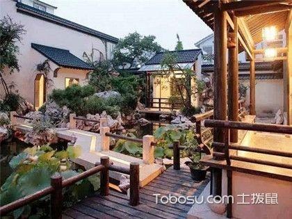 中式庭院装修效果图赏析,好看的庭院就是应该这样装