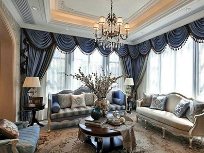 欧式风格设计说明,6款耳目一新的欧式客厅设计