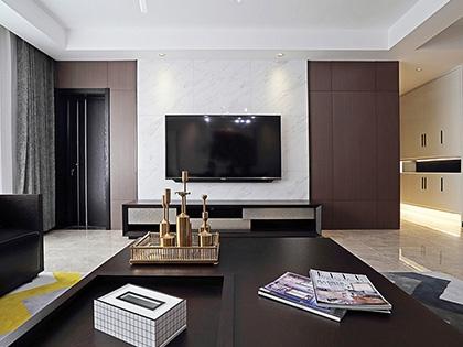 电视背景墙装修效果图大全,2018简约时尚电视背景墙设计