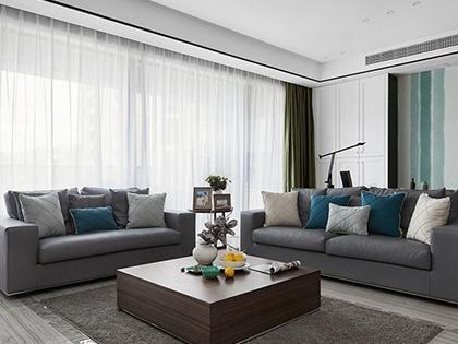 现代简约风格客厅设计,5个简约空间凸显魅力格调