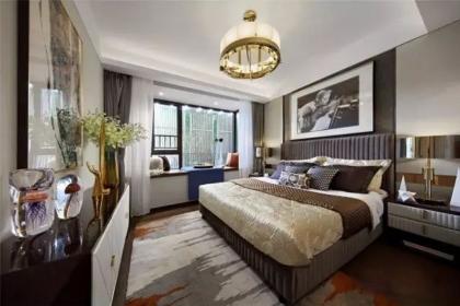 135平港式风格设计理念说明,完美诠释轻奢精致的家居空间