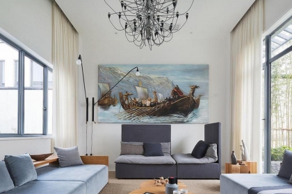 欧式客厅沙发背景墙效果图,这6款沙发背景墙你看了没