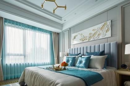 卧室窗帘装修效果图,卧室窗帘这样搭配才好看!