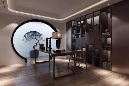 北京别墅装修设计效果图,新中式带来的诗意生活