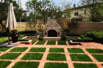 不同風格庭院綠化效果圖,讓家居環境更加清新自然