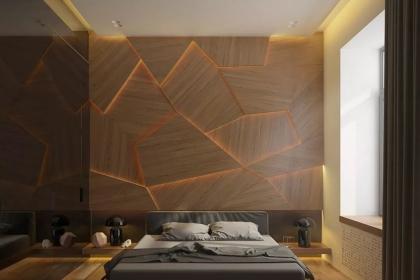 简约日式背景墙效果图,这样设计让墙面颜值更高