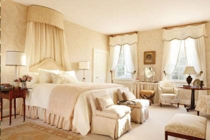 精美卧室窗帘装饰效果图,兼具颜值与实用双向功能