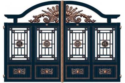 庭院门选择什么材质好?庭院门材质介绍