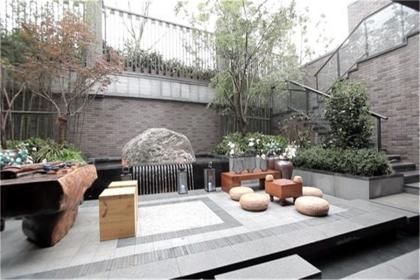 小庭院设计效果图,悠闲自在的小庭院如何设计