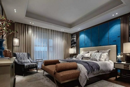 现代简约窗帘效果图,5款现代简约卧室窗帘供您参考