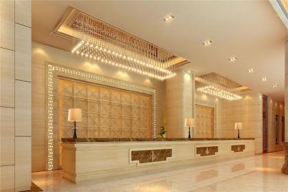 宾馆吧台装修效果图,宾馆吧台应该怎么装