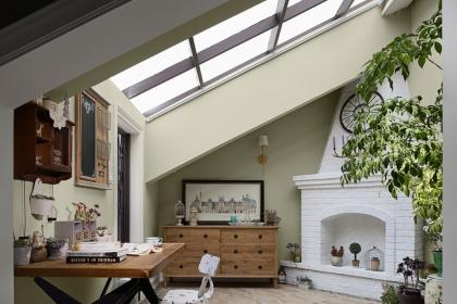 带天窗的阁楼案例欣赏,发现一种不规则的美