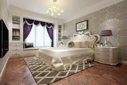 最新卧室床头背景墙装修效果图,这样装实在是太美了