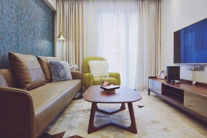 2018年宁波60平公寓装修案例,缔造清新优雅小蜗居