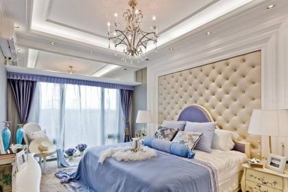 欧式卧室床头软包背景墙效果图,让床头尽显奢华