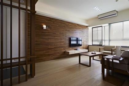 简约客厅电视背景墙装修设计,让客厅更加素雅大气
