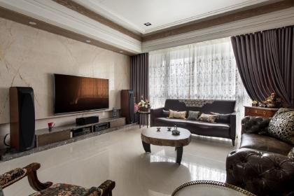 简约客厅背景墙装修设计,简约客厅电视背景墙效果图赏析