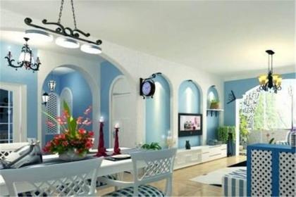 地中海风格壁纸,展现独特的家装设计效果