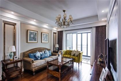 美式风格客厅设计说明,详解美式客厅设计