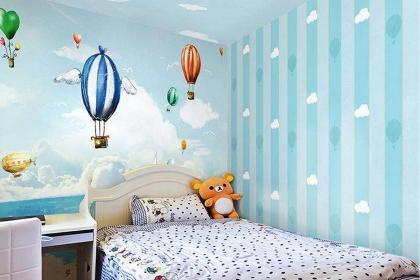 儿童房墙壁颜色搭配技巧,4大原则要注意