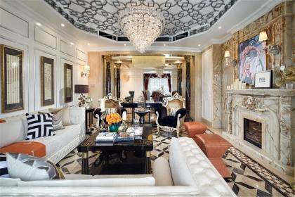 新古典风格客厅设计说明,新古典客厅如何设计