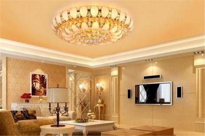 客厅水晶灯风水有什么讲究,客厅水晶灯的风水禁忌