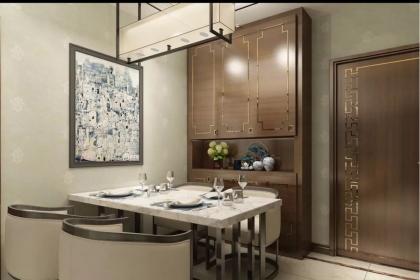79平新中式风格设计实景图,小户型也能装修出高雅品味