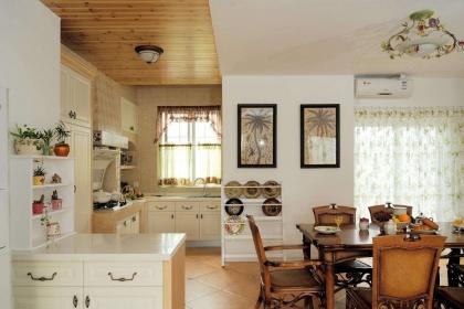 最新3平米厨房装修效果图赏析,时尚又温馨