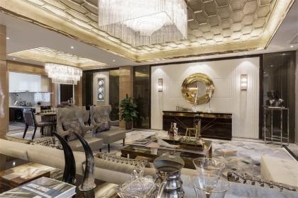 混搭风格客厅设计说明,混搭风格客厅效果图欣赏