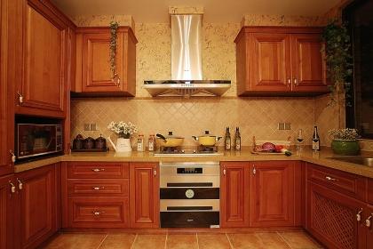 最新家装厨房效果图赏析,让家居生活更美好