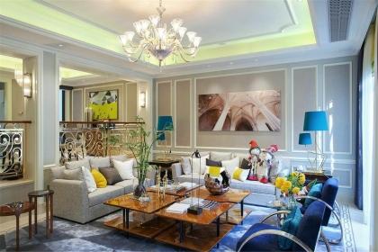 法式风格客厅设计说明,详解法式风格客厅设计
